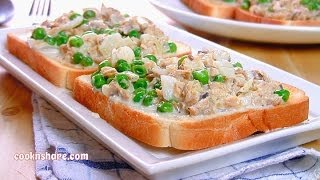 Cream Of Salmon On Toast