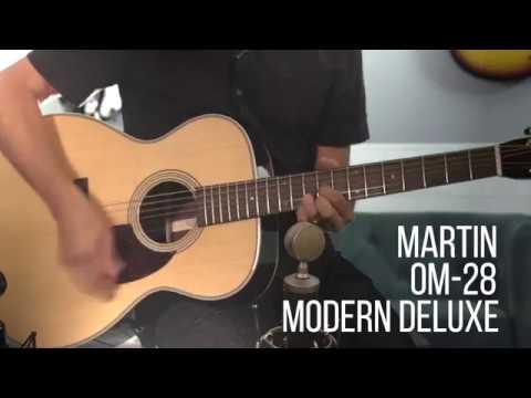 Martin OM-28 Modern Deluxe demo