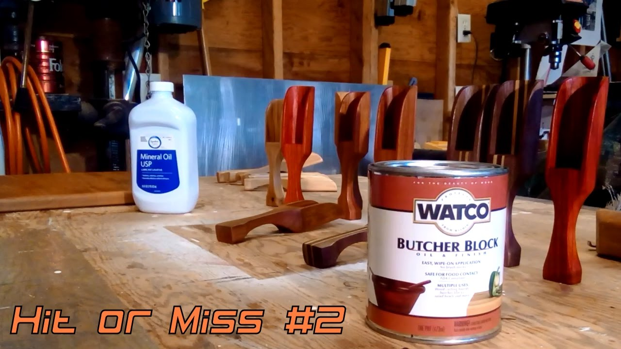 Oil for butcher block - Hit Or Miss Episode 2 Watco Butcher Block Finish