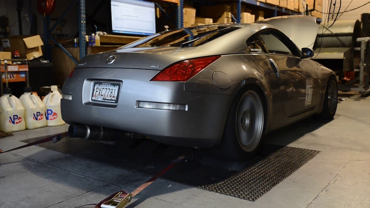 Tomei Expreme TI Full Exhaust 350Z On The Dyno