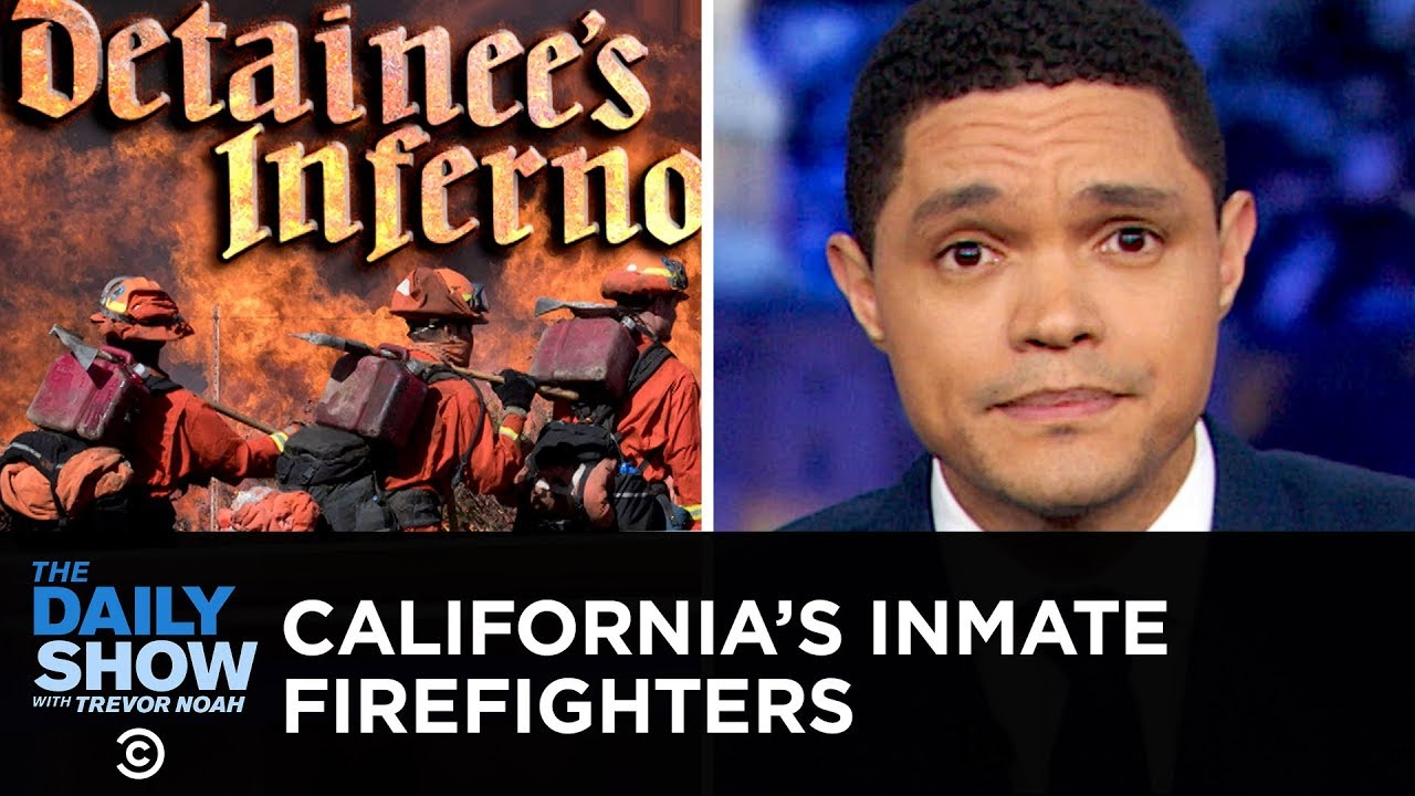 The Invaluable Work of California's Inmate Firefighters | The Daily Show image