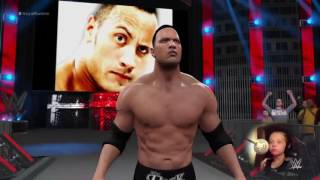 WWE 2K 16!!! Magan is Raw!!!!!!
