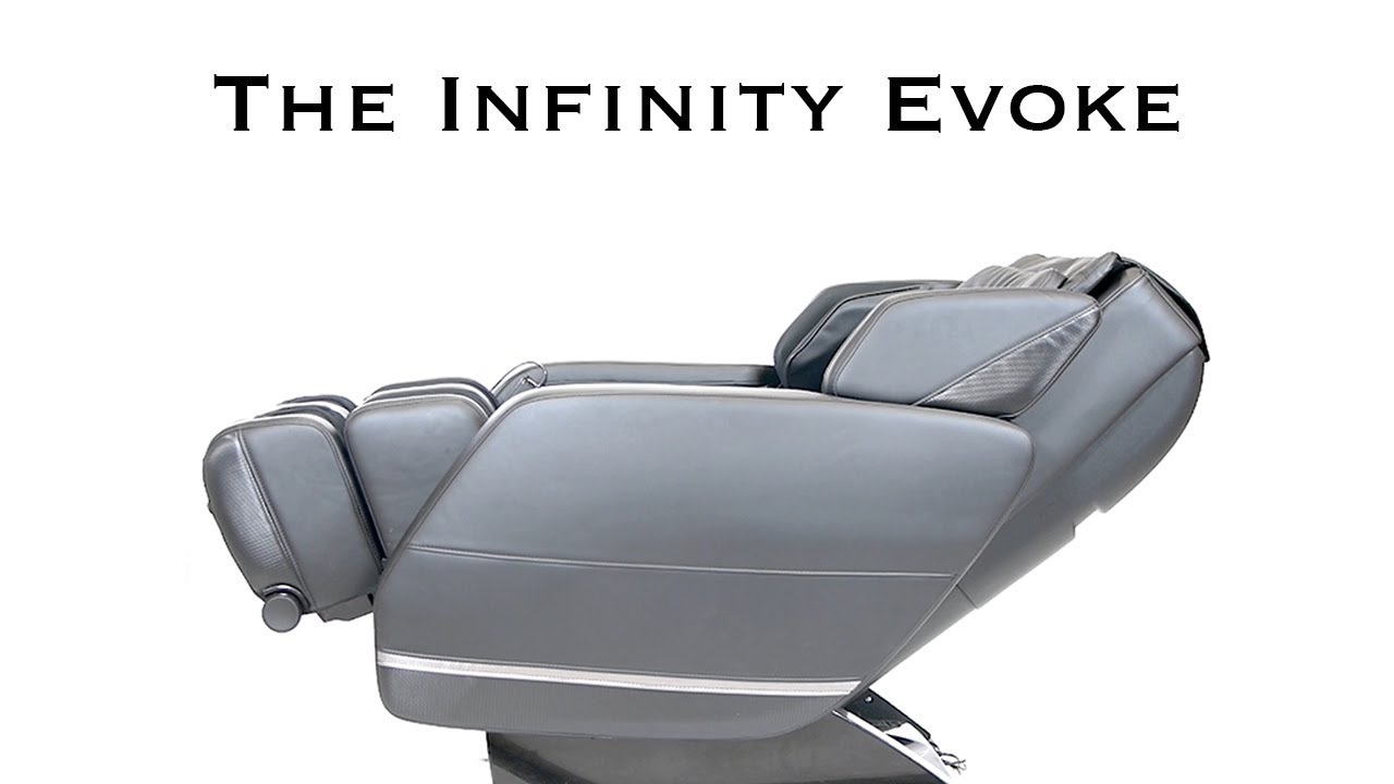 infinity massage chair lowes chairs outdoor the evoke youtube