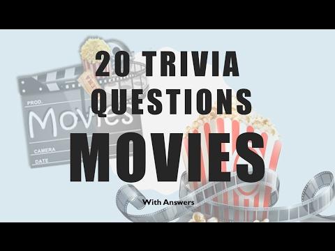20 Trivia Questions (Movies) No. 1