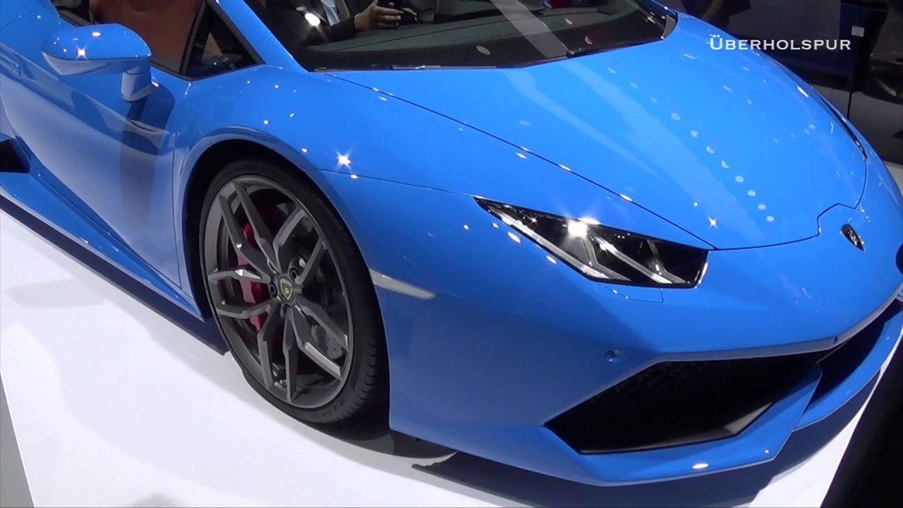 maxresdefault Modern Lamborghini Huracán Spyder Lp 610-4 Cars Trend