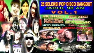 Download 25 Seleksi Pop Disco Dangdut Jadul 90 - Vol. 1
