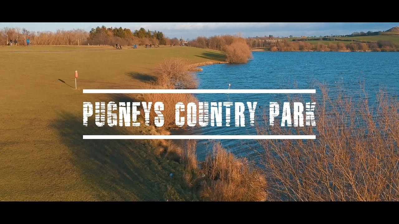 Pugneys Country Park (Wakefield) - DJI Spark Footage