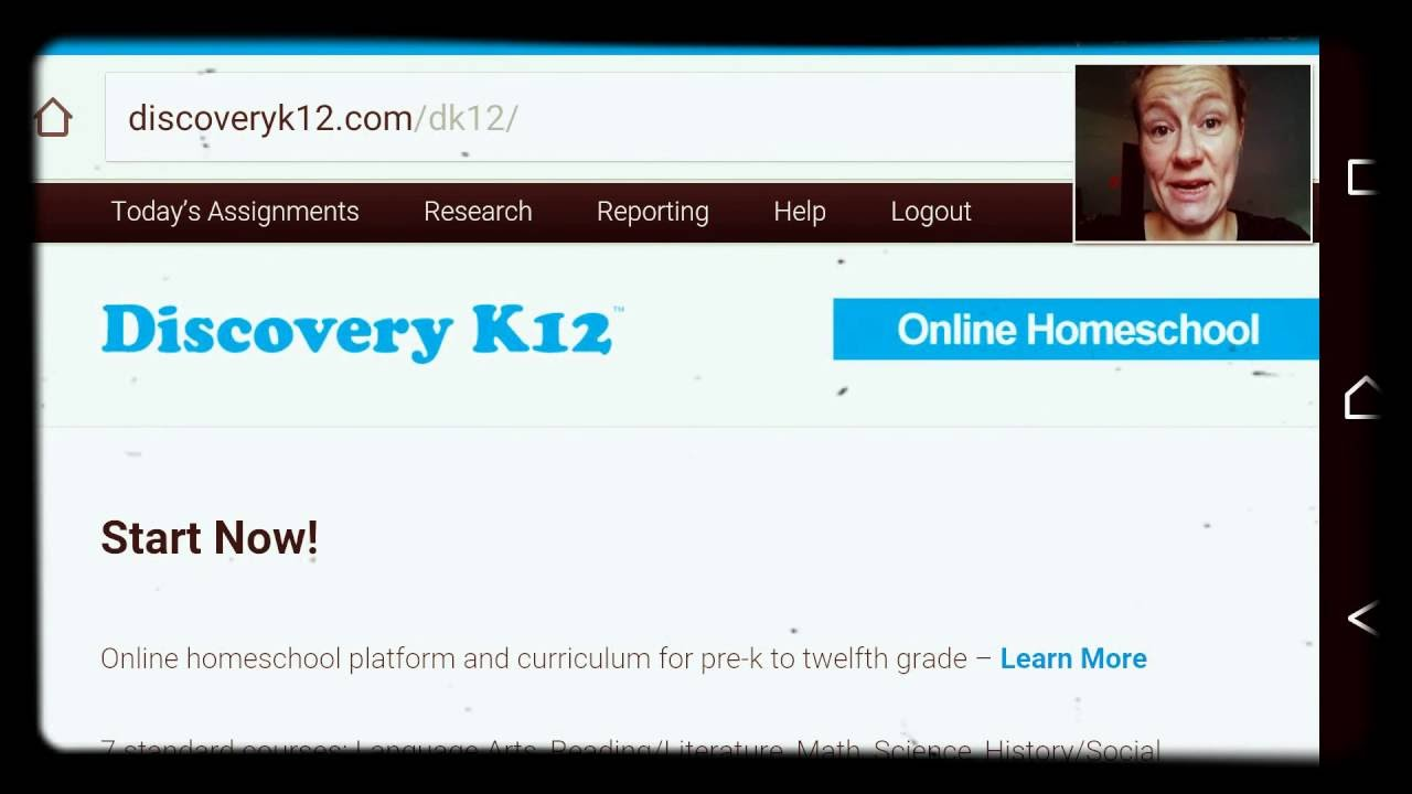Discovery K12 Finding Daily Assignments Youtube