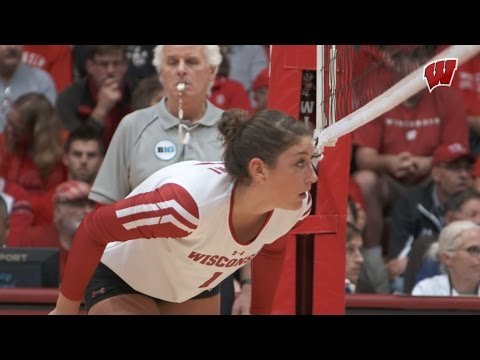 2016 Wisconsin Volleyball Highlights