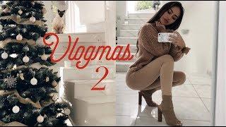 VLOGMAS WEEK 2 | Christmas Decorations | Coco Lili