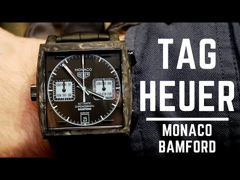 Tag Heuer Monaco Bamford Limited Edition Review