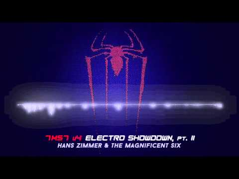 Free Download Hans Zimmer & The Magnificent Six - 7m57 V4 Electro Showdown, Pt. Ii [the Amazing Spider-man 2] Mp3 dan Mp4