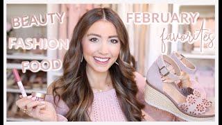 FEBRUARY FAVORITES 2020 | fashion, beauty, food!