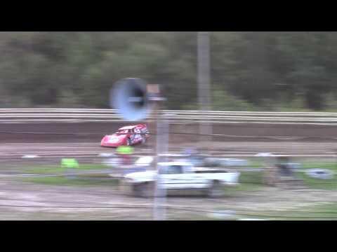 Hummingbird Speedway (9-7-19): BWP Bats Super Late Model Heat Race #2