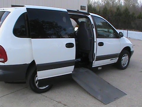 1997 Dodge Grand Caravan Wheelchair Van Handicap For Sale Charlotte NC EJ Dulina