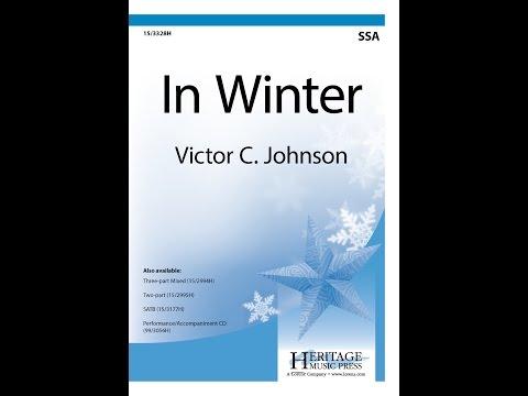 In Winter (SSA) - Victor C. Johnson