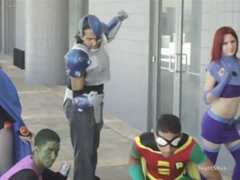 Teen Titans Cosplay Video