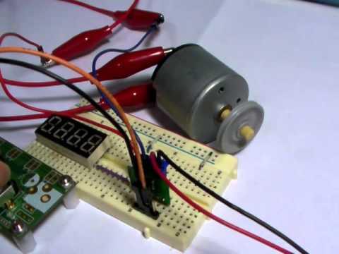 nexp :: STM8S - PWM테스트 (DC모터 속도 제어)