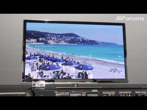 Panasonic VT60, GT60 and ST60 Plasma TVs for 2013 launched in the UK