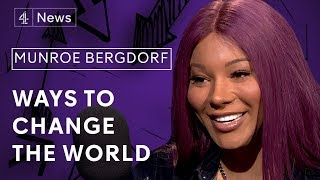 Munroe Bergdorf on racism, trans activism and acceptance
