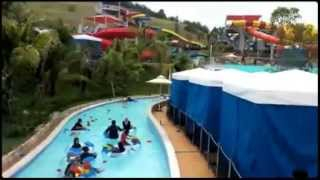 GoPro Point of View at LEGOLAND Florida Water Park - Twin Chasers Slide
