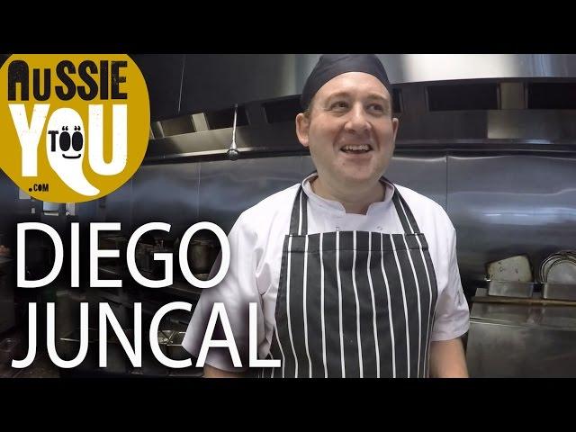 Diego Juncal - Un futuro cocinero en Melbourne