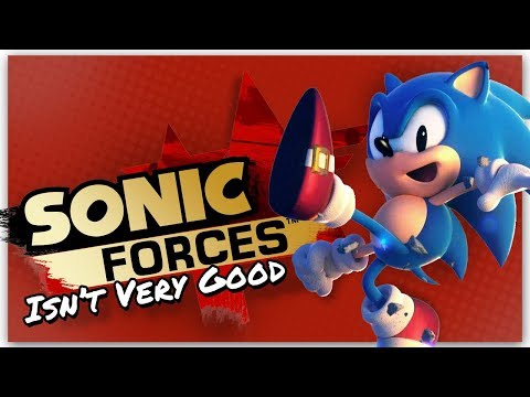 Sonic Forces Isn't Very Good    Billiam