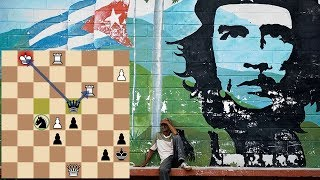 Шахматный блиц. Мастер из Кубы. Контратака во французской защите