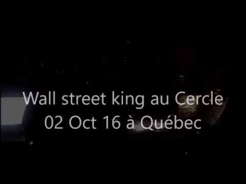 Mystery Wall street king en spectacle au Cercle 2 Oct 2016