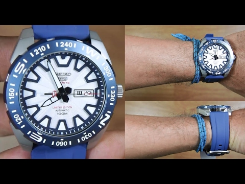 Seiko 5 SRP783K1 Automatic RUBBER mt.Fuji Limited Edition - UNBOXING ... b187d73ee3