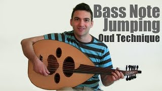 Bass Note Jumping - Melody Embellishment Oud Technique