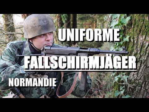 Airsoft loadout: WW2 German Paratrooper German paratrooper