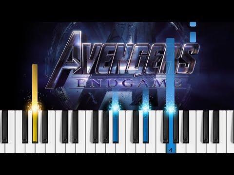 Avengers: Endgame - Portals - Piano Tutorial & Sheet Music! thumbnail