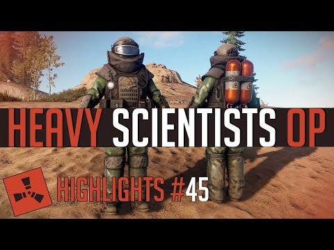 Heavy Scientists are OP! (Rust Highlights #45) thumbnail