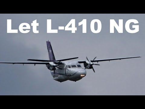 Let L 410 NG - SINGLE ENGINE FLIGHT, Airshow Breclav 2019