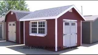 Video Amish Made EZ-fit Homestead Shed download MP3, 3GP, MP4, WEBM, AVI, FLV Juli 2018