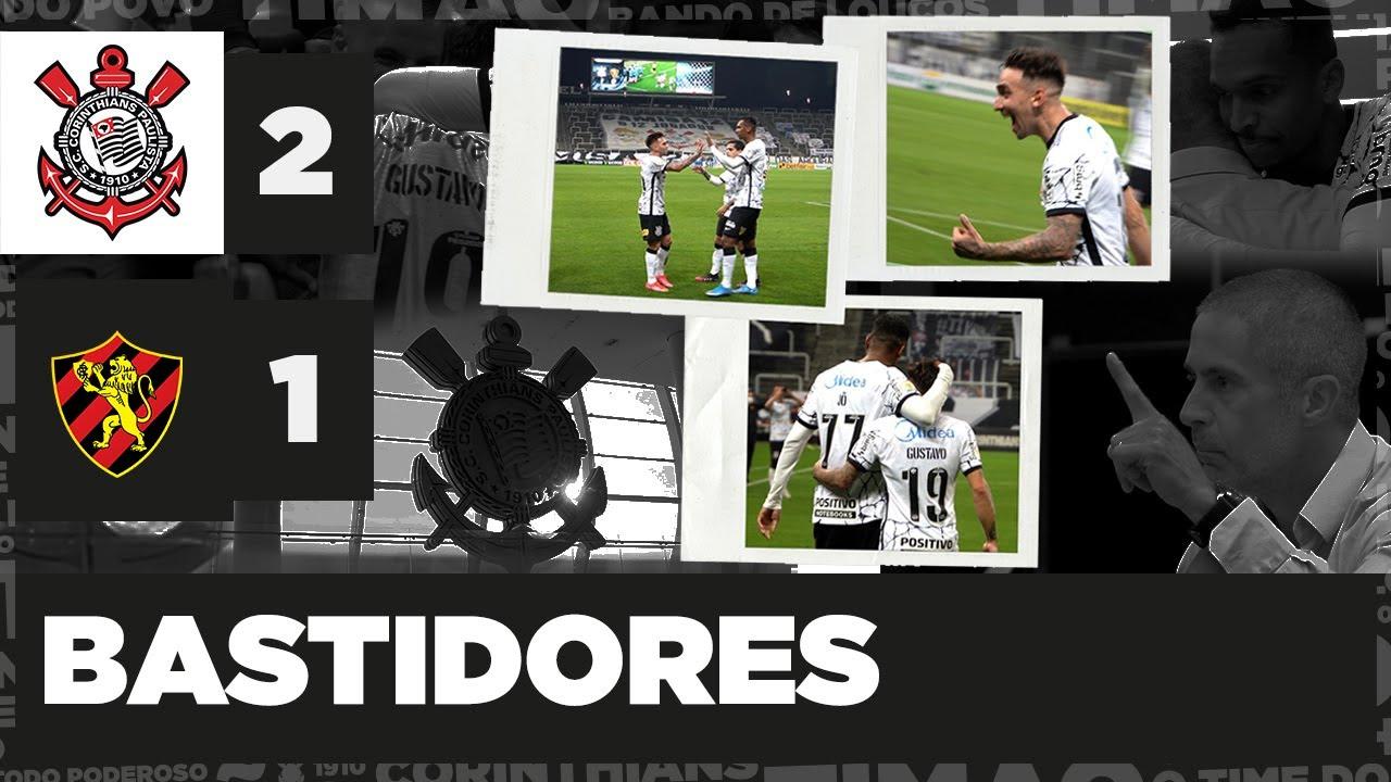 BASTIDORES de CORINTHIANS 2x1 SPORT - Brasileiro 2021