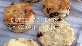 Dates Scones Recipe
