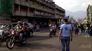 LLegada de la Cruzada Andina a San Cristobal #09A