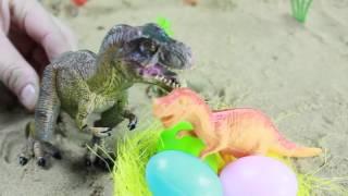 Мультики про динозавров  видео с игрушками для детей: Щенячий патруль спасает яйца динозавров.