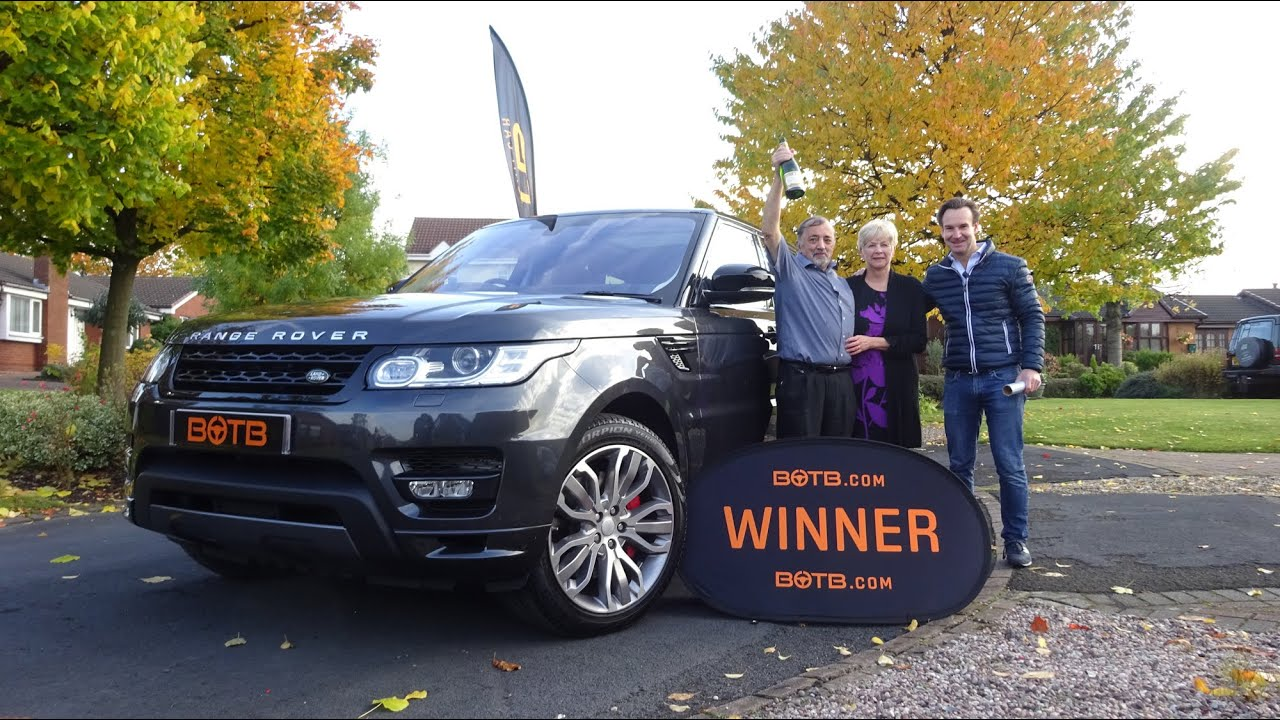 Winner Week 43 2015 Range Rover Sport plus £10 000 cash Win
