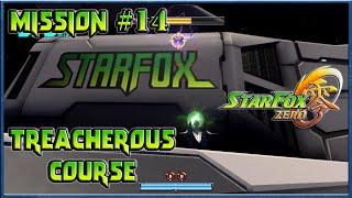 Star Fox Zero - Treacherous Course, Asteroid Field Escort - Episode 14