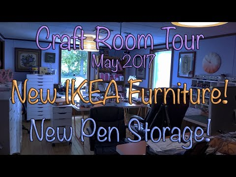 Lea's May 2017 Craft Room Tour