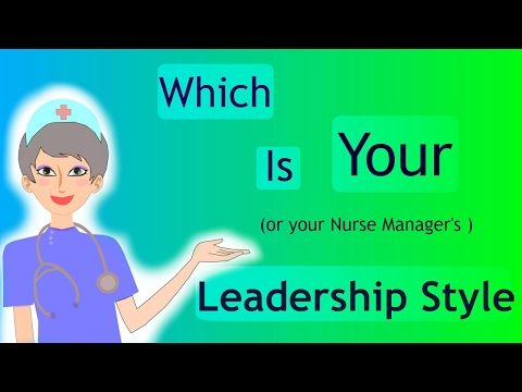 nursing leadership styles