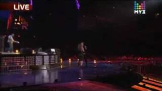 "Dima Bilan feat. Anastacia - ""Safety"" at Muz TV Awards 2010"