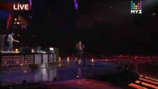 """Dima Bilan feat. Anastacia - """"Safety"""" at Muz TV Awards 2010"""