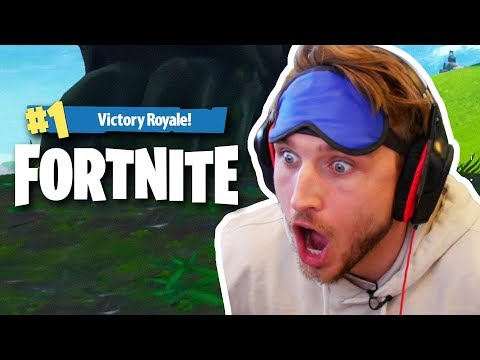 HOW TO MAKE TOP 2 IN FORTNITE WHILE BLINDFOLDED