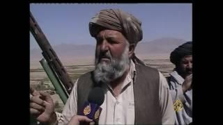 أرشيف - طالبان تستعد للغارات الأميركية بأسلحة قديمة