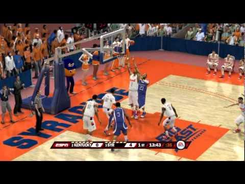 NCAA Basketball 12 Gameplay? (PS3) - Kentucky vs Syracuse ...