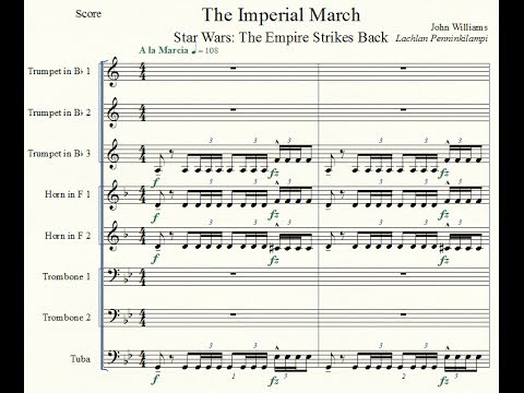 Star Wars Ep. V - 'The Imperial March' - Brass Octet
